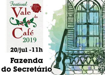 FESTIVAL VALE DO CAFÉ(20/07)-11H00