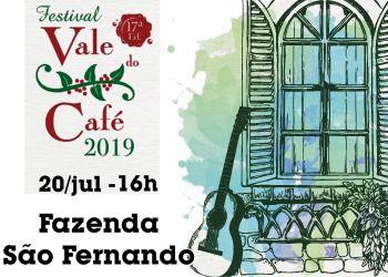 FESTIVAL VALE DO CAFÉ(20/07)-16H00